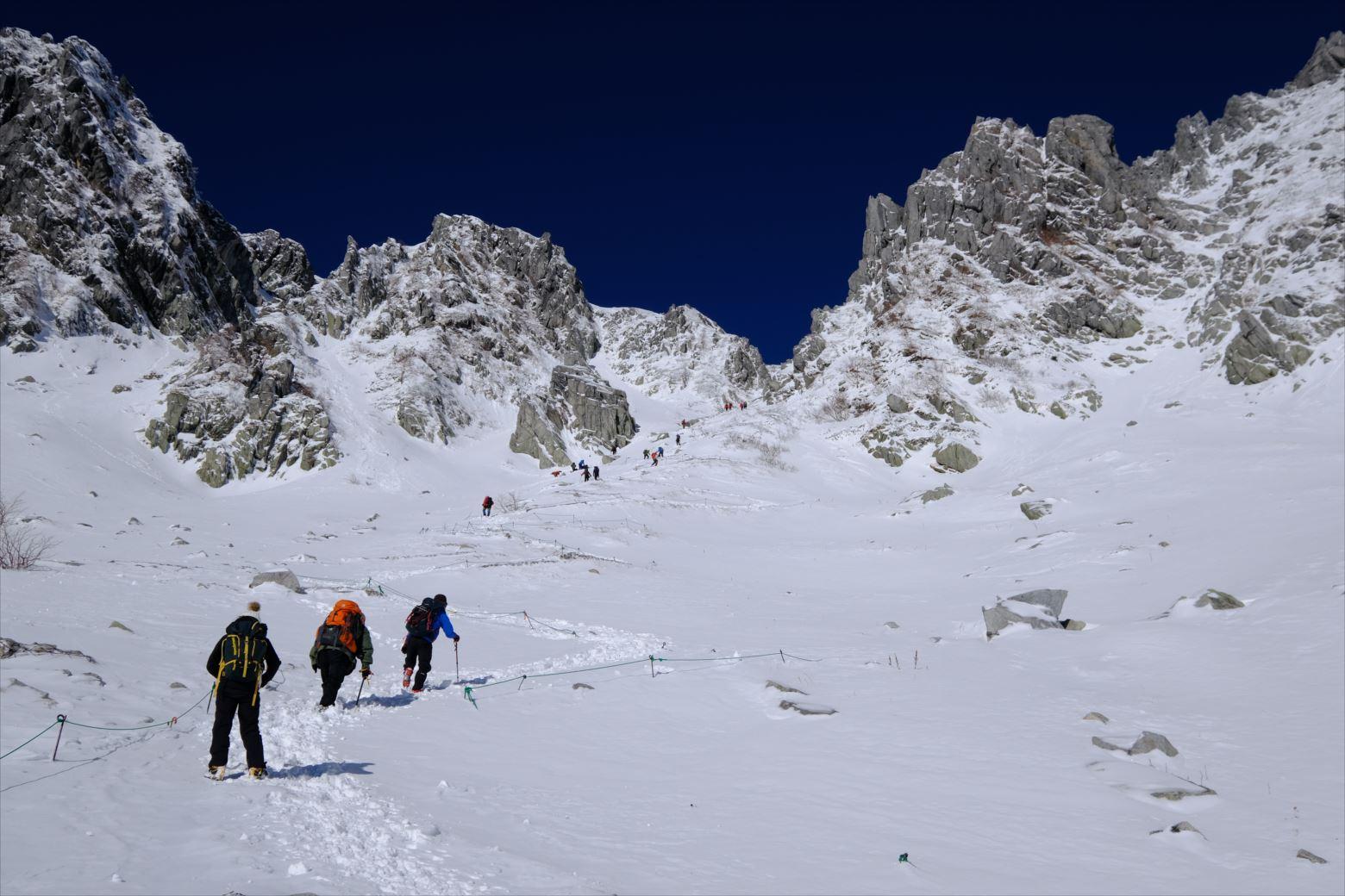 【初冬期・雪山登山】木曽駒ケ岳~日帰りでいく雪山3,000m級峰~
