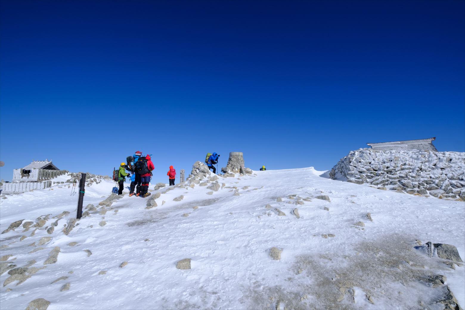 【初冬期・雪山登山】木曽駒ケ岳 (33)
