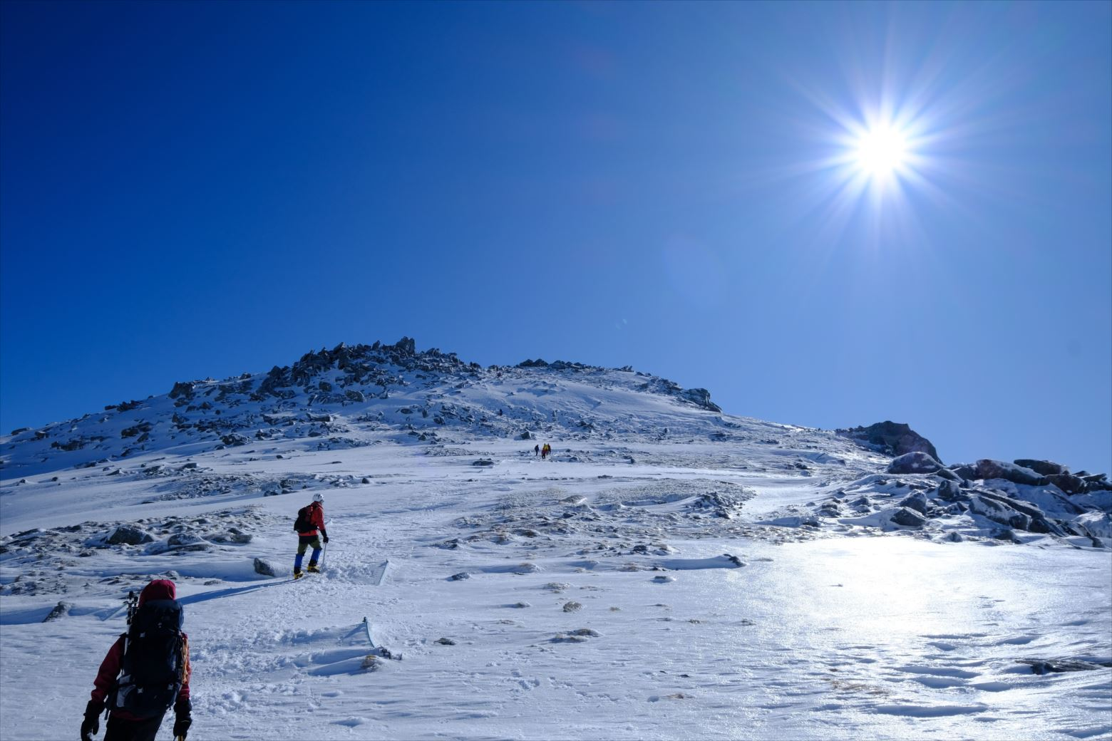 【初冬期・雪山登山】木曽駒ケ岳 (39)
