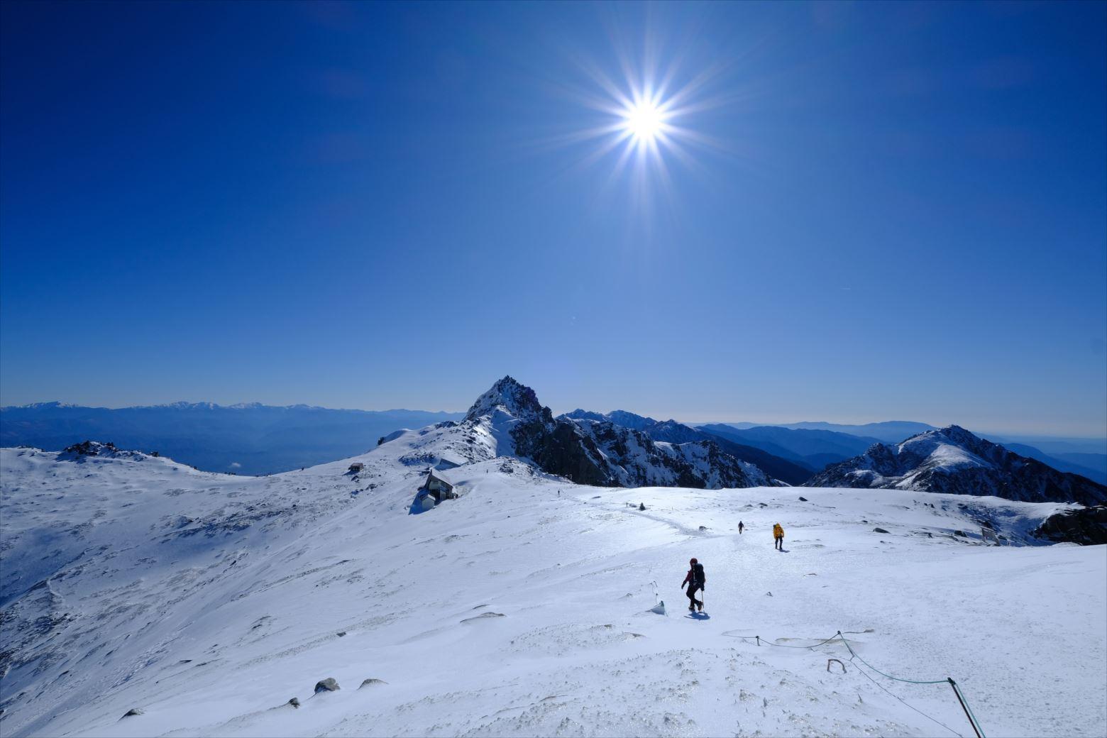 【初冬期・雪山登山】木曽駒ケ岳 (42)