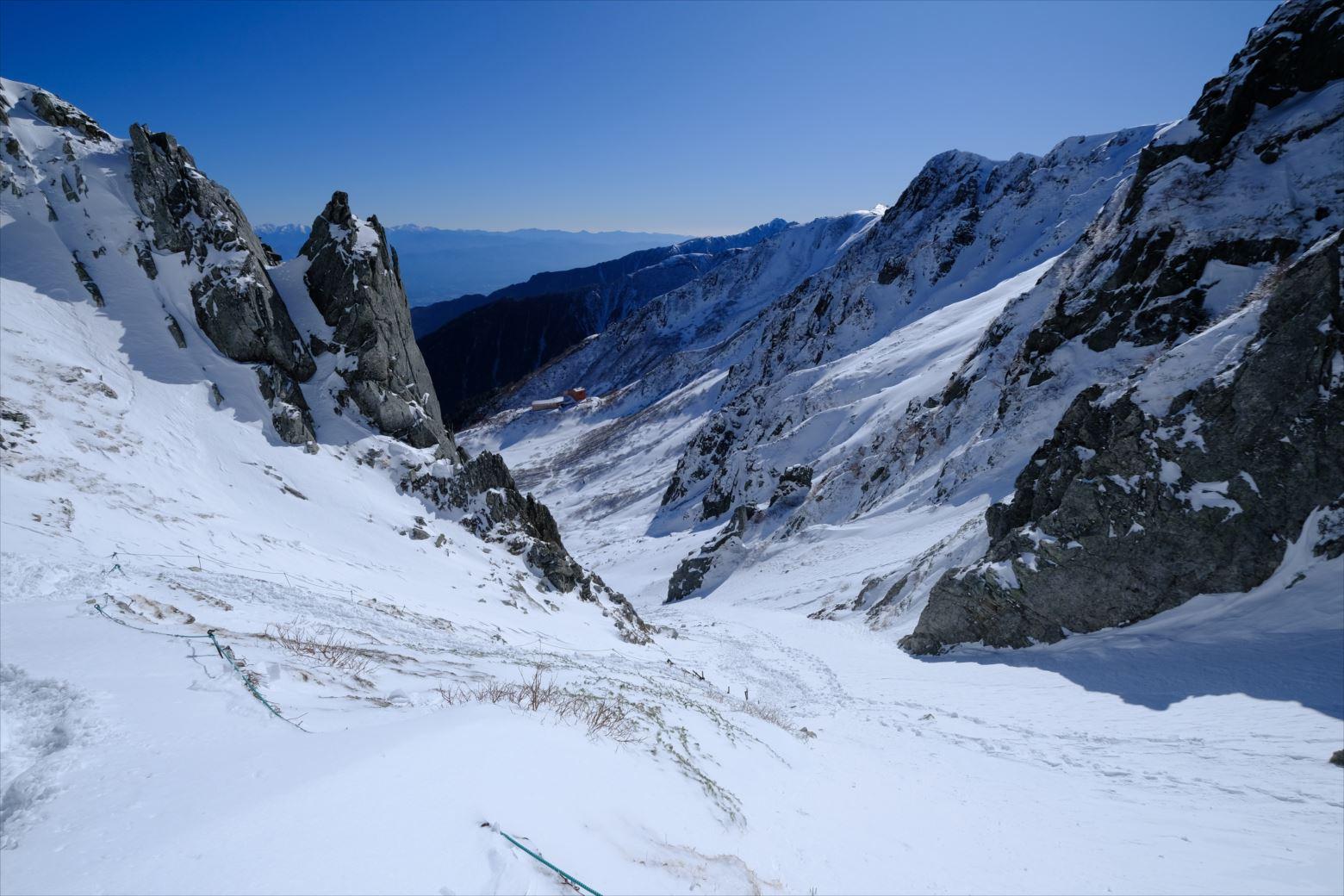 【初冬期・雪山登山】木曽駒ケ岳 (45)