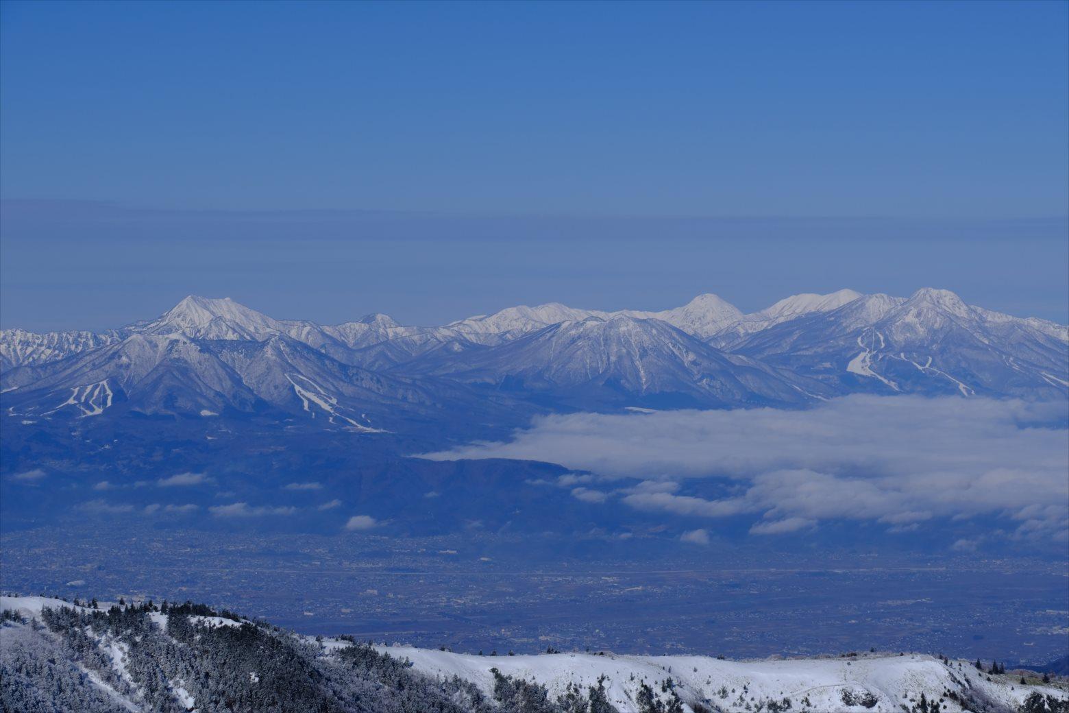 【厳冬期・雪山登山】四阿山 (43)