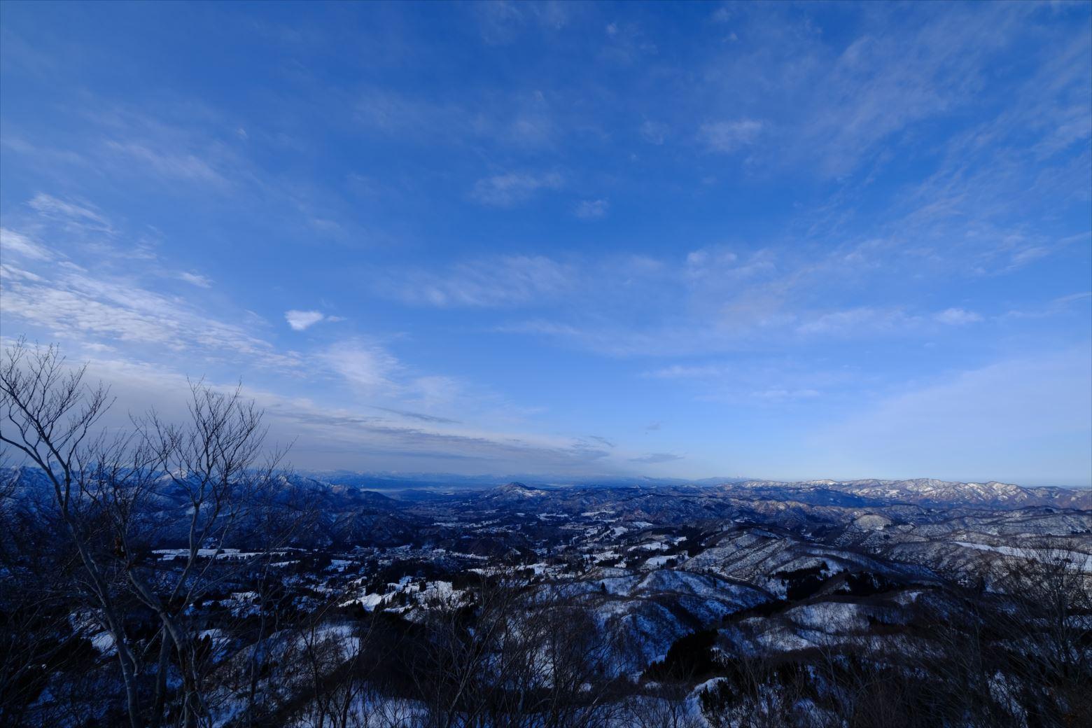 【厳冬期・雪山登山】守門岳 (14)