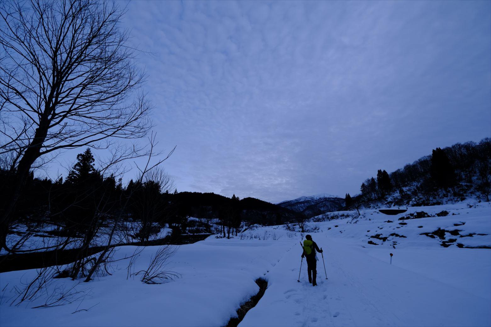 【厳冬期・雪山登山】守門岳 (3)