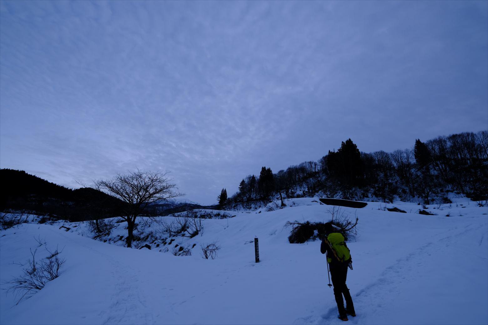 【厳冬期・雪山登山】守門岳 (4)
