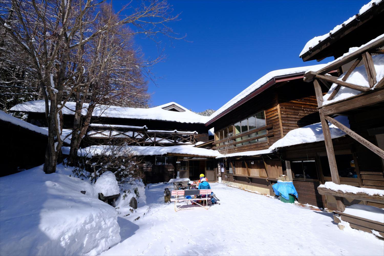 【厳冬期・雪山登山】硫黄岳・天狗岳 (25)