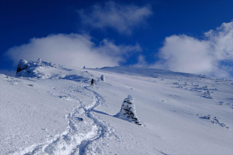 【厳冬期・雪山登山】硫黄岳、天狗岳~なだらかな雪山ハイク~