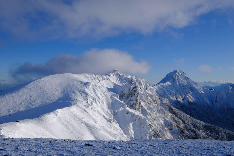 【厳冬期・雪山登山】硫黄岳・天狗岳 (47)