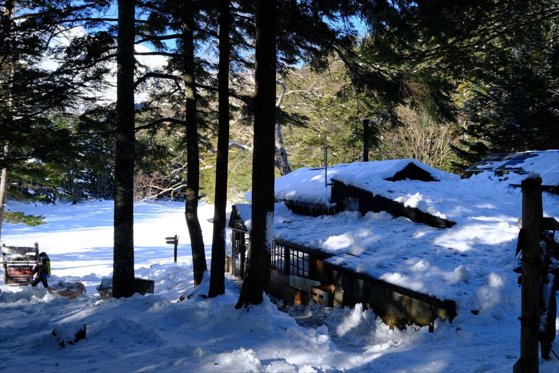 【厳冬期・雪山登山】硫黄岳・天狗岳 (9)