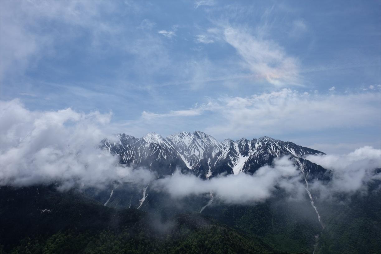 【残雪期・雪山登山】笠ヶ岳 (11)