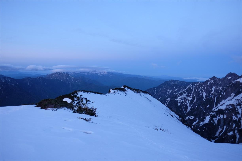 【残雪期・雪山登山】笠ヶ岳 (24)