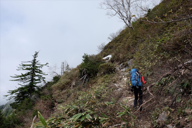 【残雪期・雪山登山】笠ヶ岳 (5)