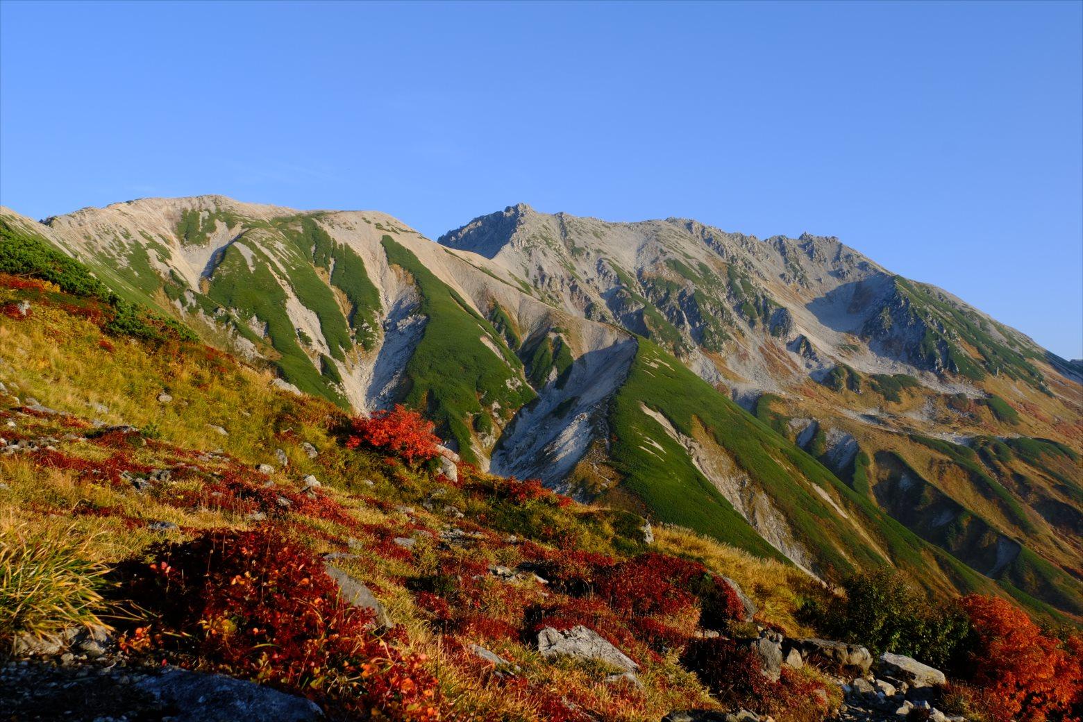 【紅葉登山】立山~紅葉の絶景稜線ハイク~