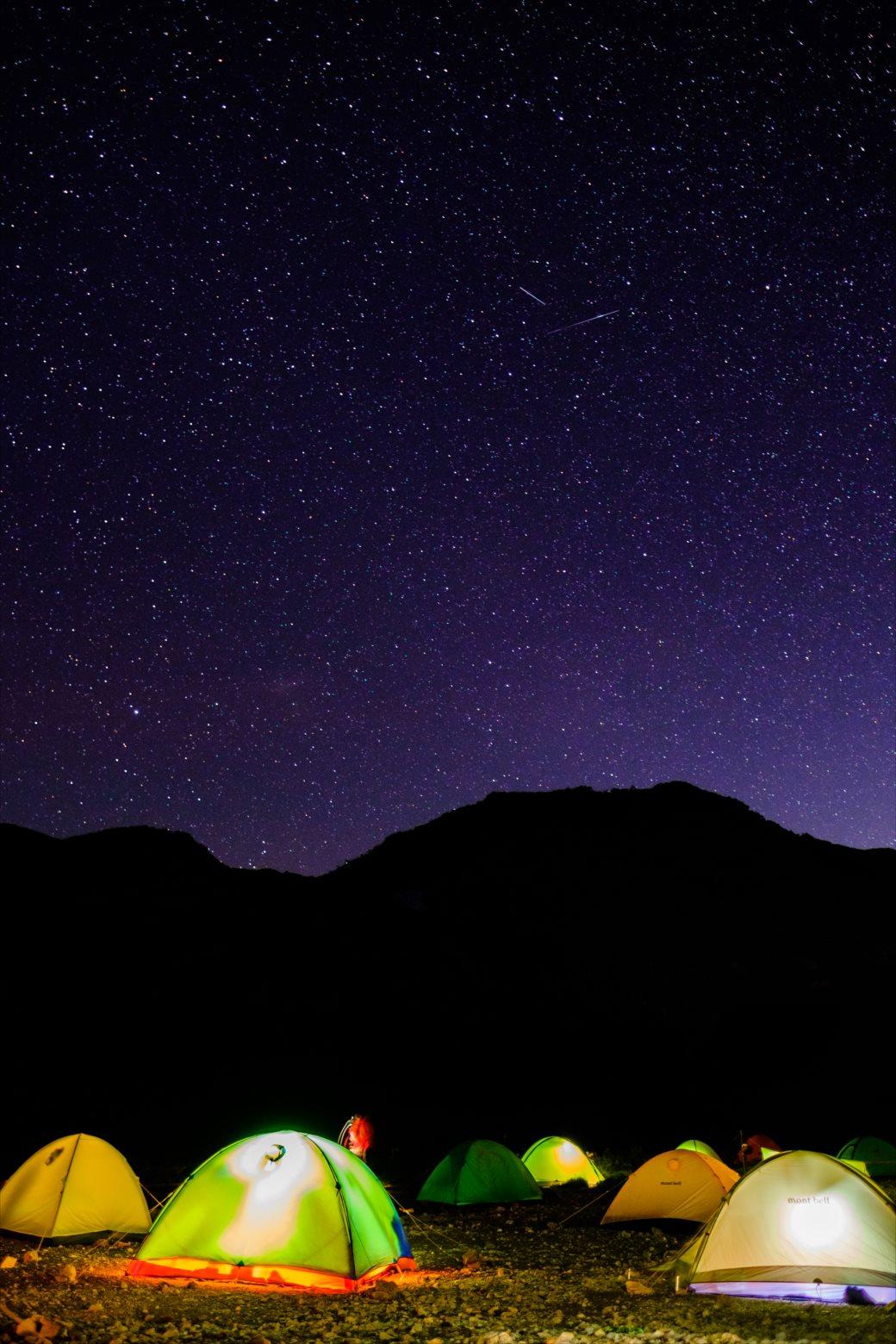 星空撮影時にガスがかっている場合のタイムラプス機能のススメ