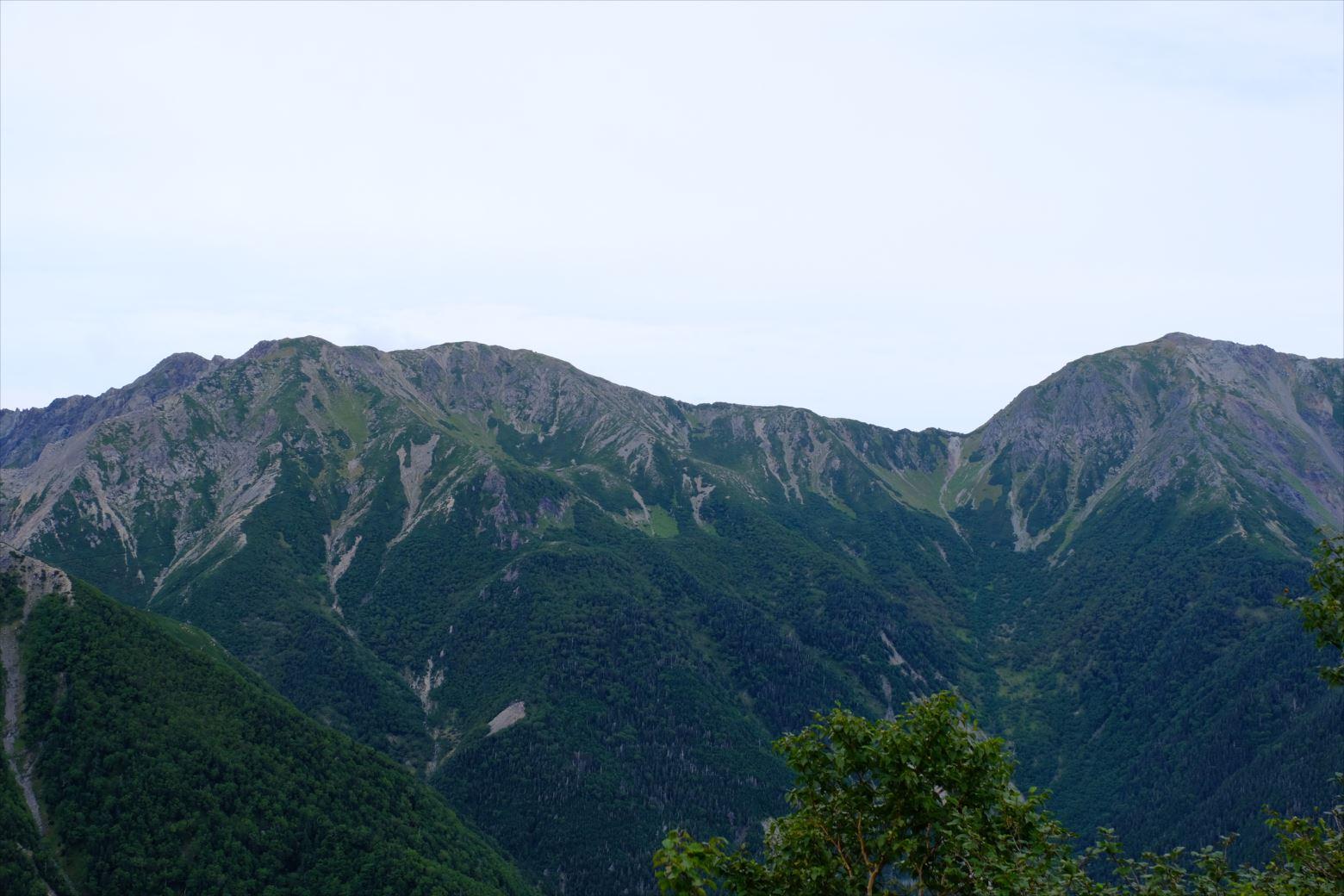 【秋山登山】赤石岳・荒川三山 (28)