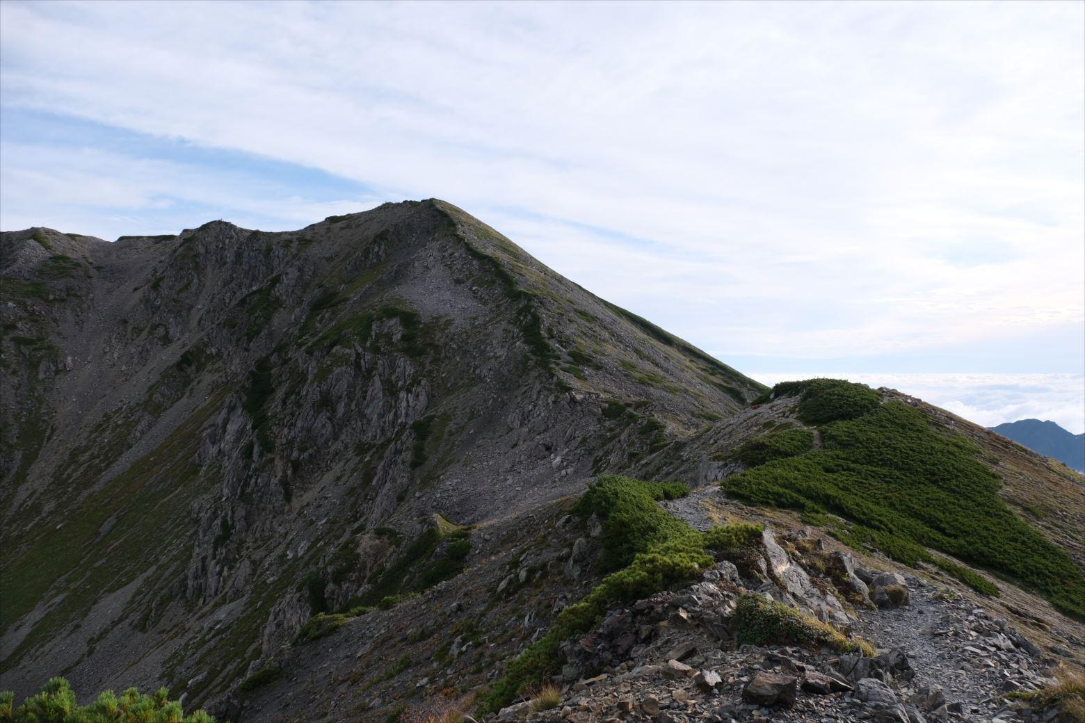 【秋山登山】赤石岳・荒川三山 (42)