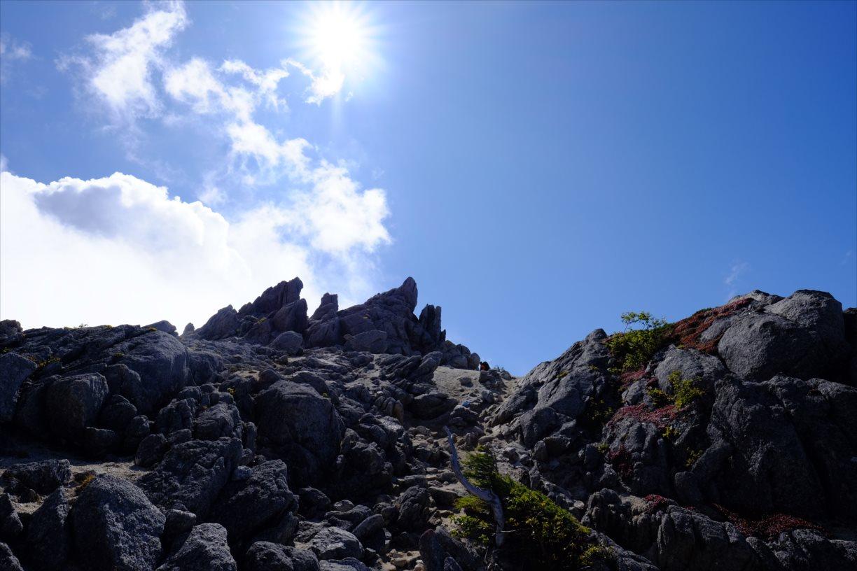 【秋山登山】鳳凰三山 (42)