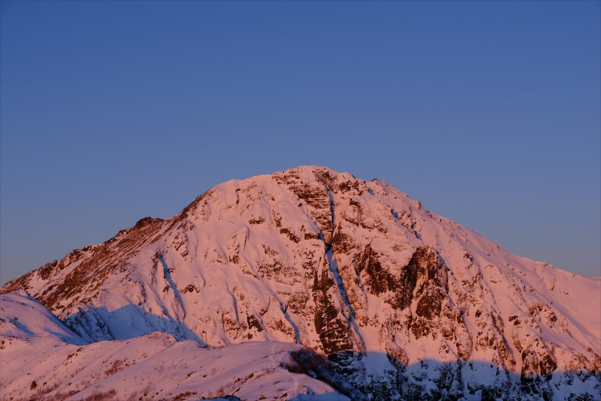 [Mid winter mountain climbing] Mt. Kita – Japanese second highest mountain –
