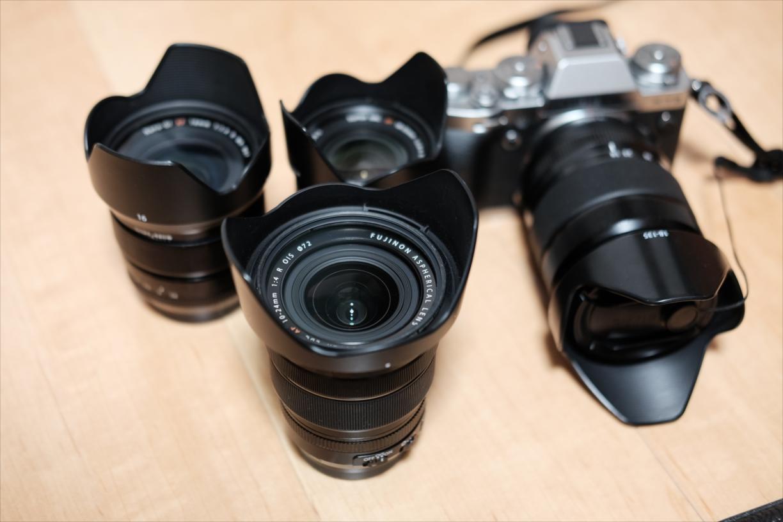 登山用カメラ装備の紹介(一泊、カメラ2台持ち編)
