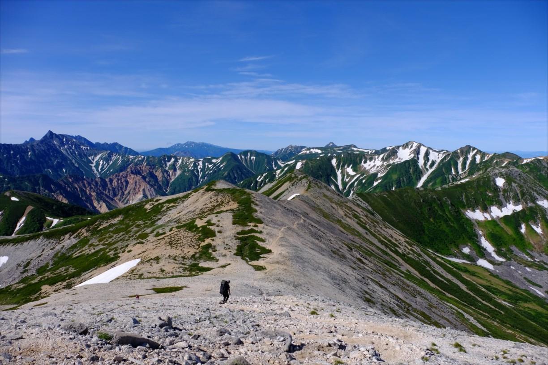 週末に一泊二日で登れるアルプス登山コースの紹介