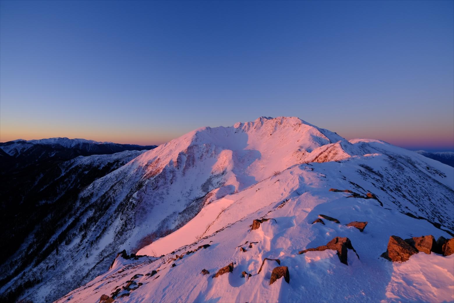 【山岳写真】フィルムシミュレーション・Velviaの作例紹介