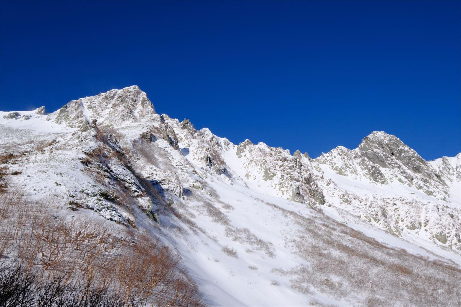 【初冬期・雪山登山】木曽駒ケ岳 (11)