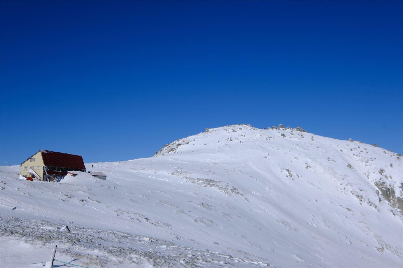 【初冬期・雪山登山】木曽駒ケ岳 (22)