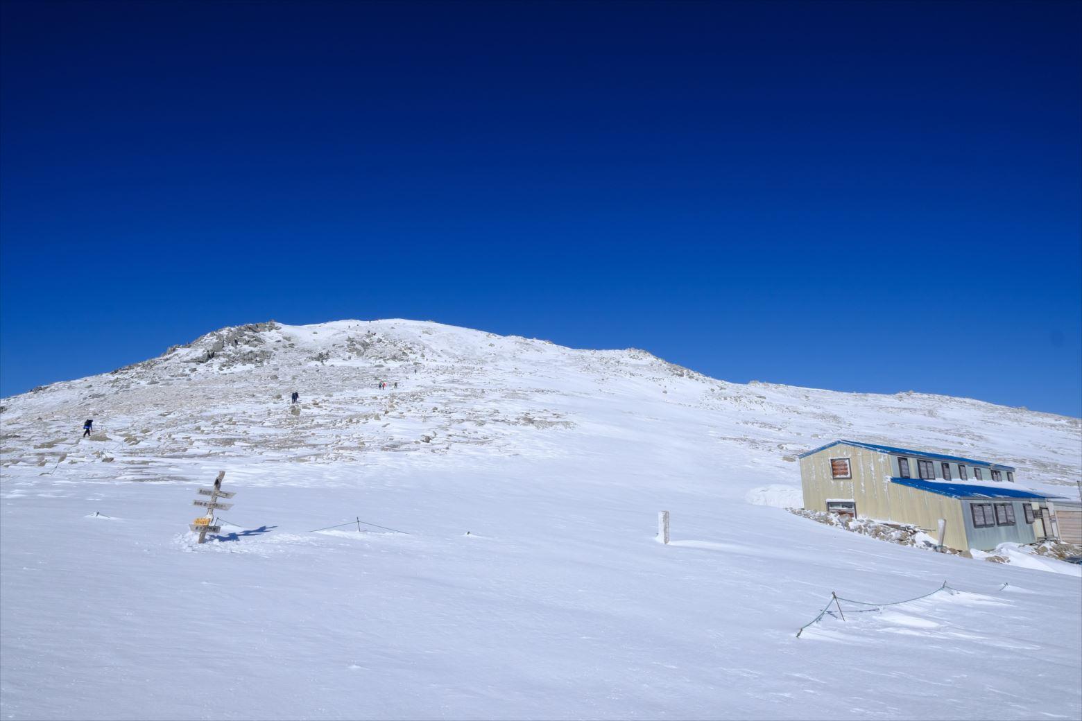 【初冬期・雪山登山】木曽駒ケ岳 (31)