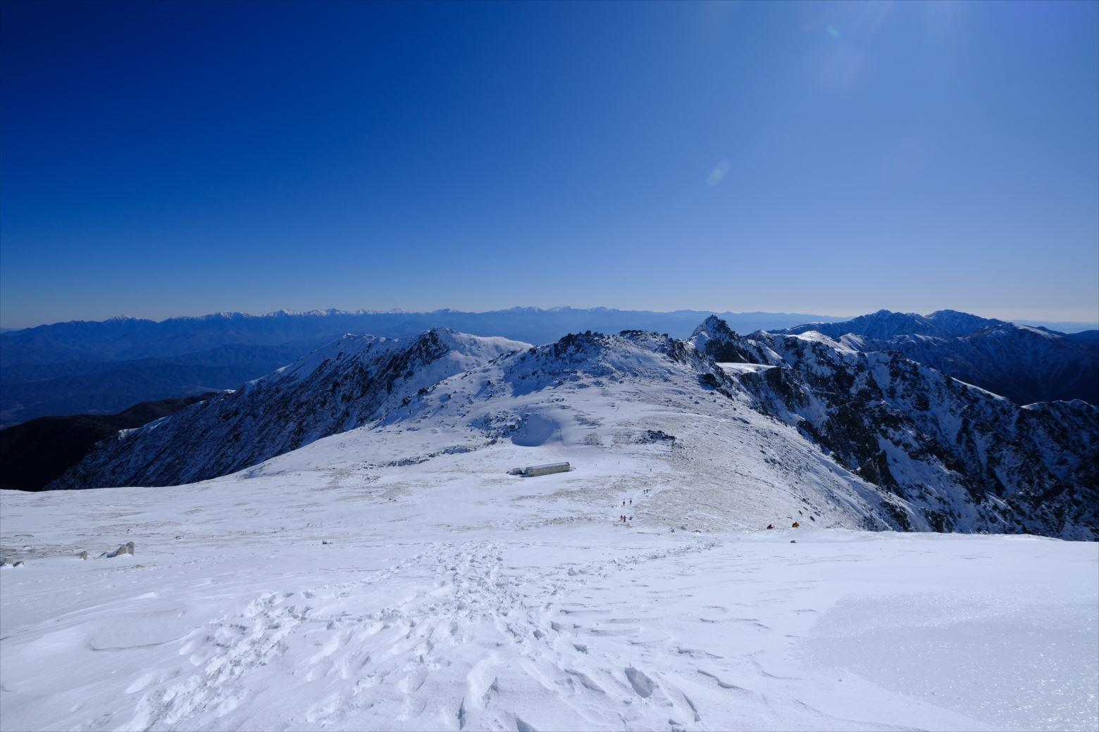 【初冬期・雪山登山】木曽駒ケ岳 (38)