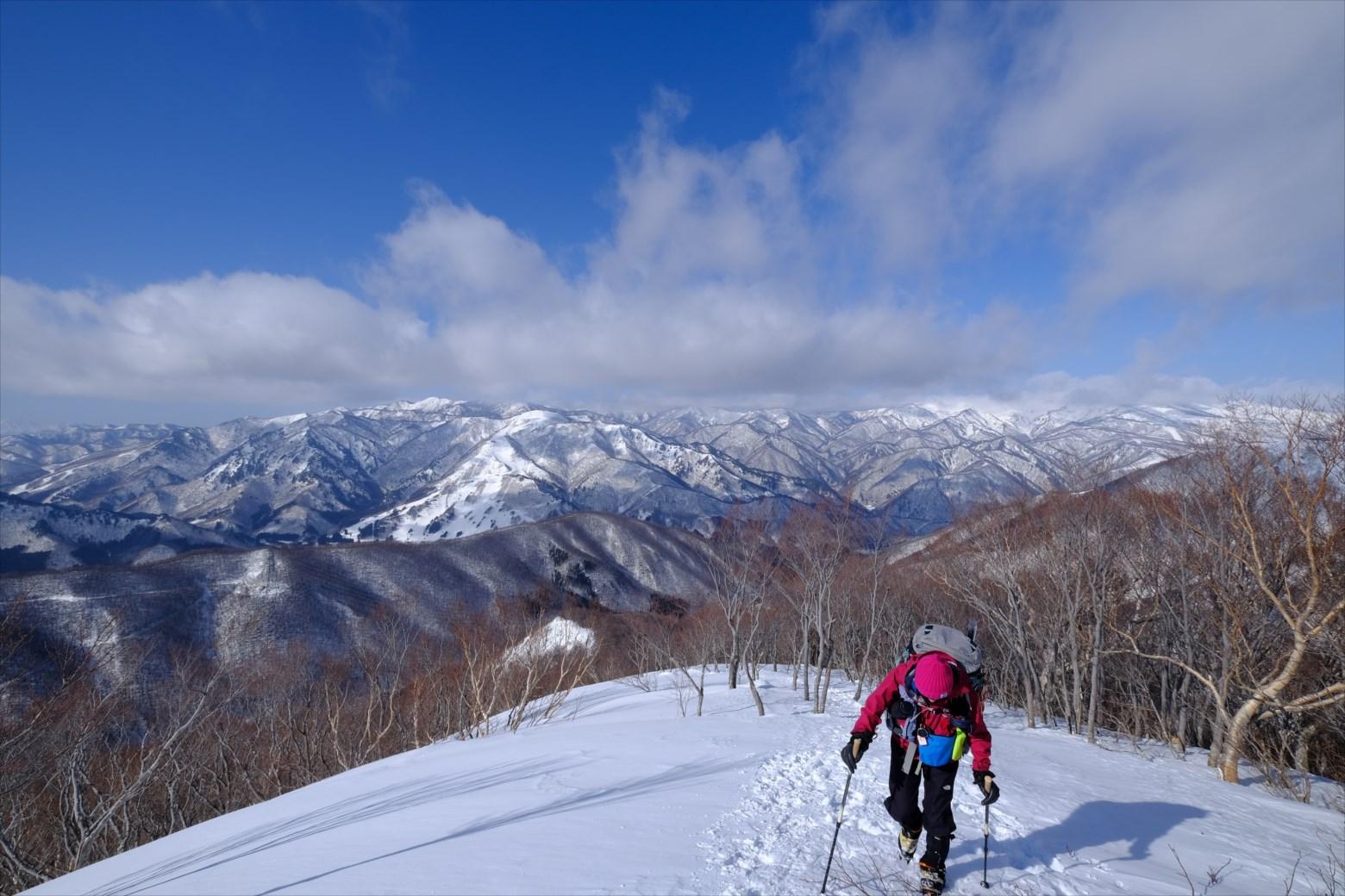 【厳冬期・雪山登山】仙ノ倉山 (11)
