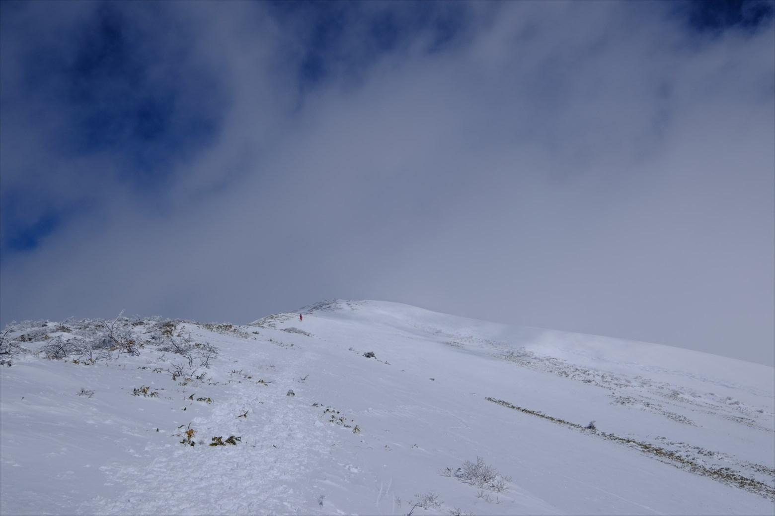【厳冬期・雪山登山】仙ノ倉山 (16)