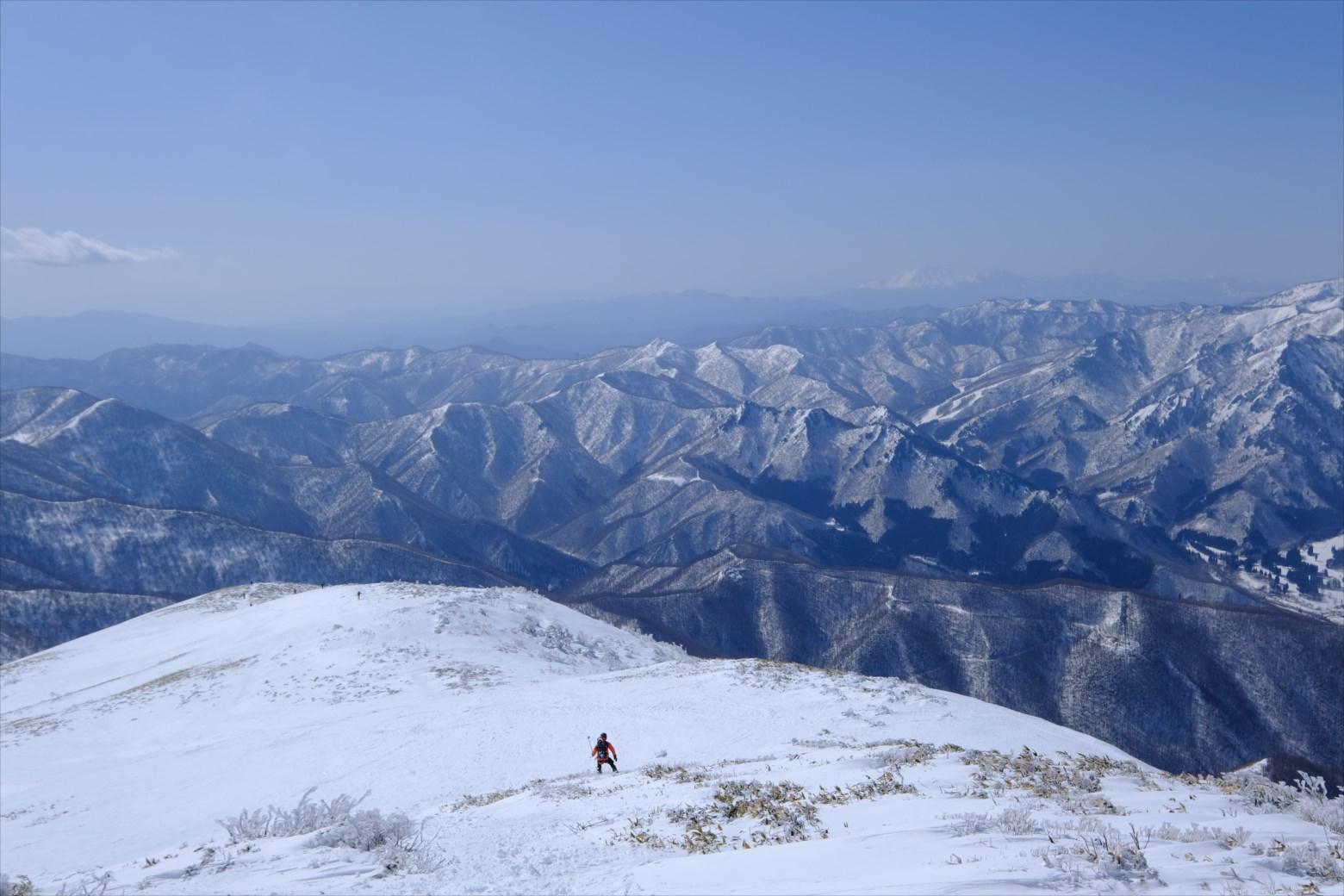 【厳冬期・雪山登山】仙ノ倉山 (18)