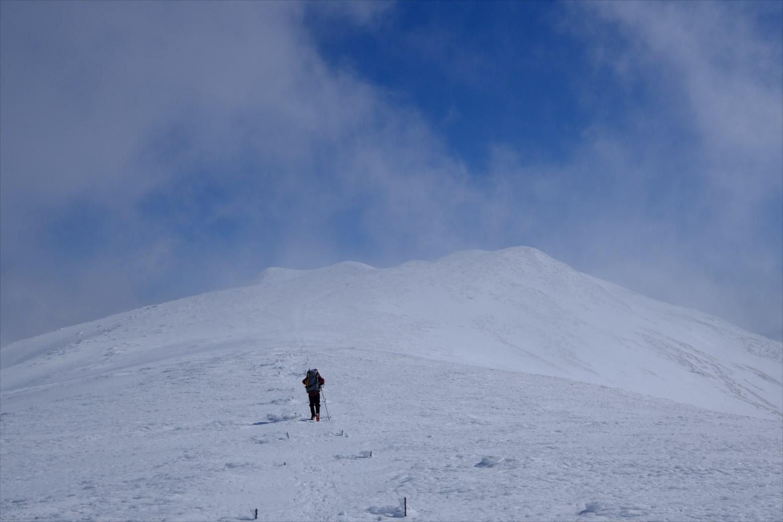 【厳冬期・雪山登山】仙ノ倉山 (25)