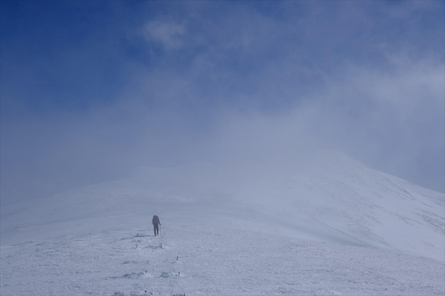 【厳冬期・雪山登山】仙ノ倉山 (26)