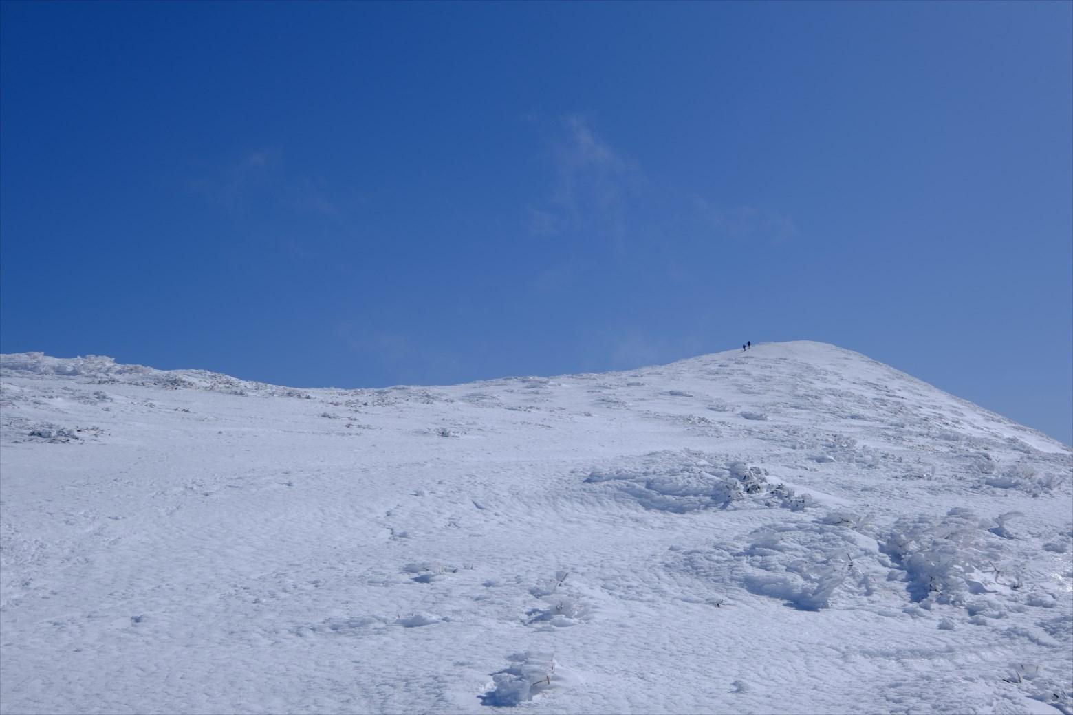 【厳冬期・雪山登山】仙ノ倉山 (28)
