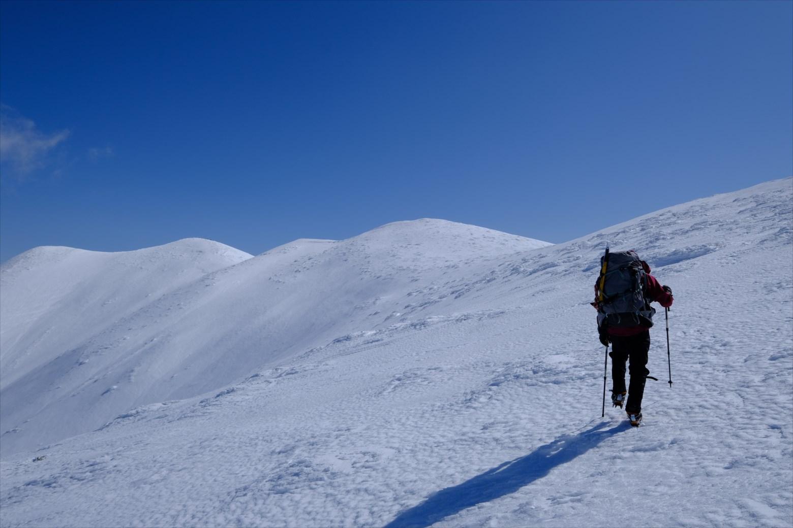 【厳冬期・雪山登山】仙ノ倉山 (29)