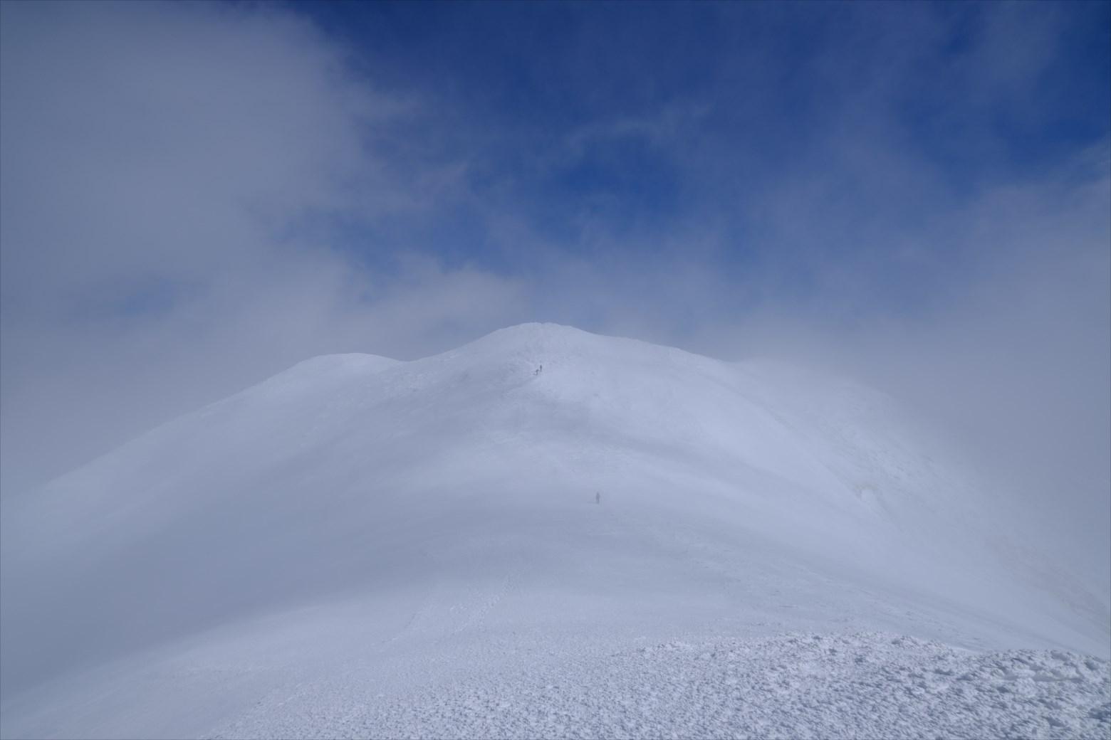 【厳冬期・雪山登山】仙ノ倉山 (33)