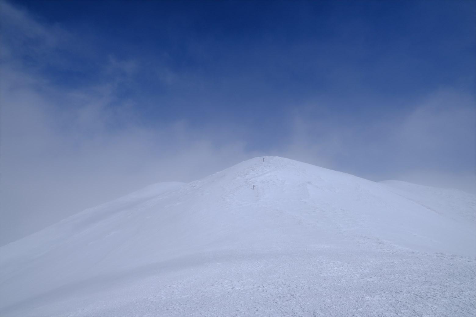 【厳冬期・雪山登山】仙ノ倉山 (34)