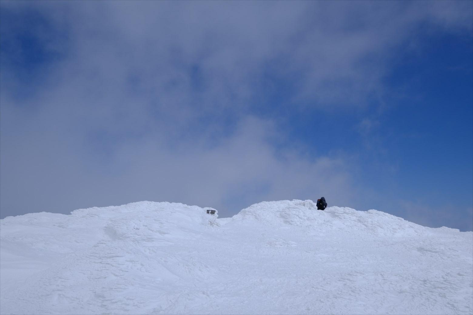 【厳冬期・雪山登山】仙ノ倉山 (35)