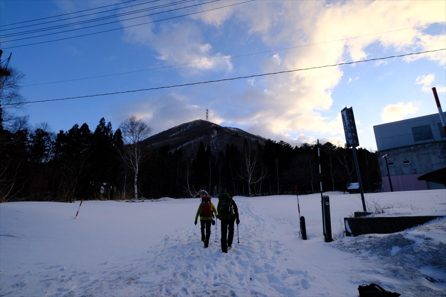 【厳冬期・雪山登山】仙ノ倉山 (4)