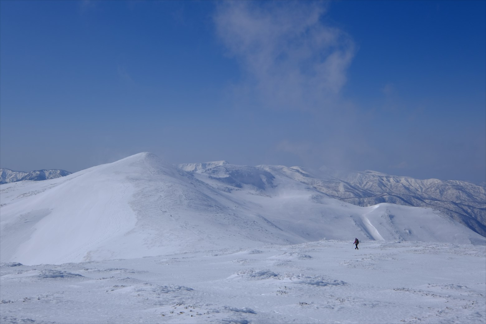 【厳冬期・雪山登山】仙ノ倉山 (43)
