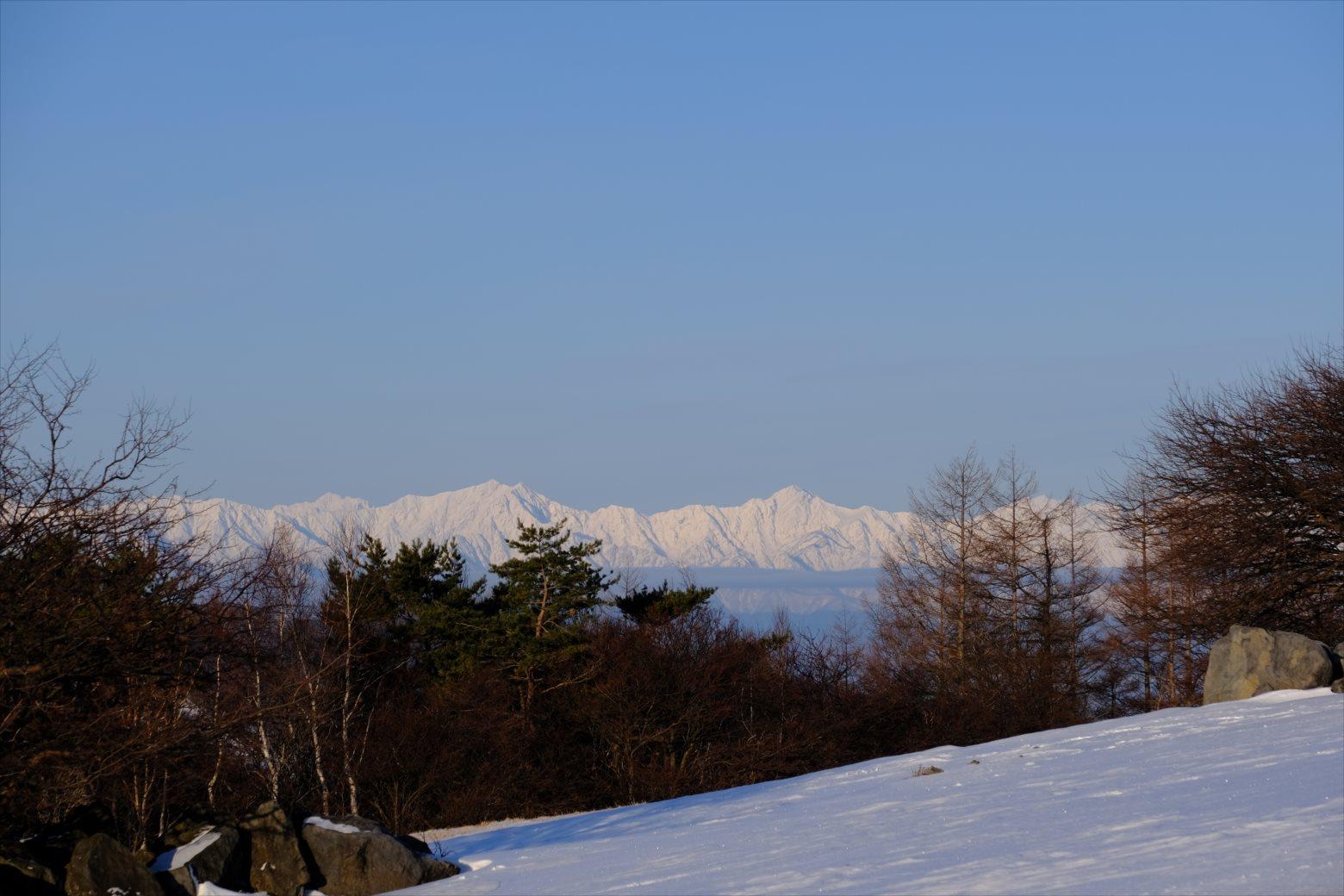 【厳冬期・雪山登山】四阿山 (15)