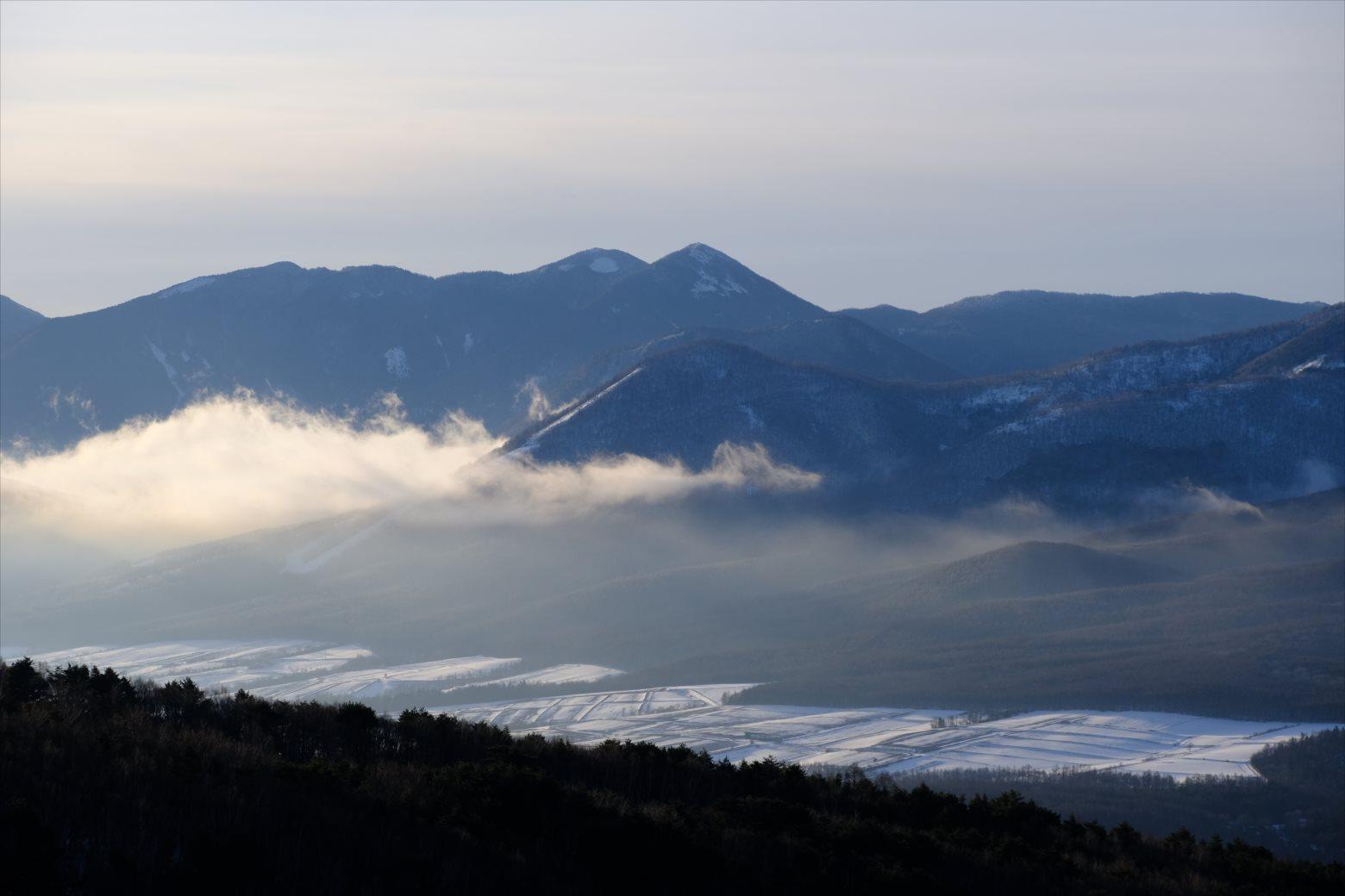 【厳冬期・雪山登山】四阿山 (17)