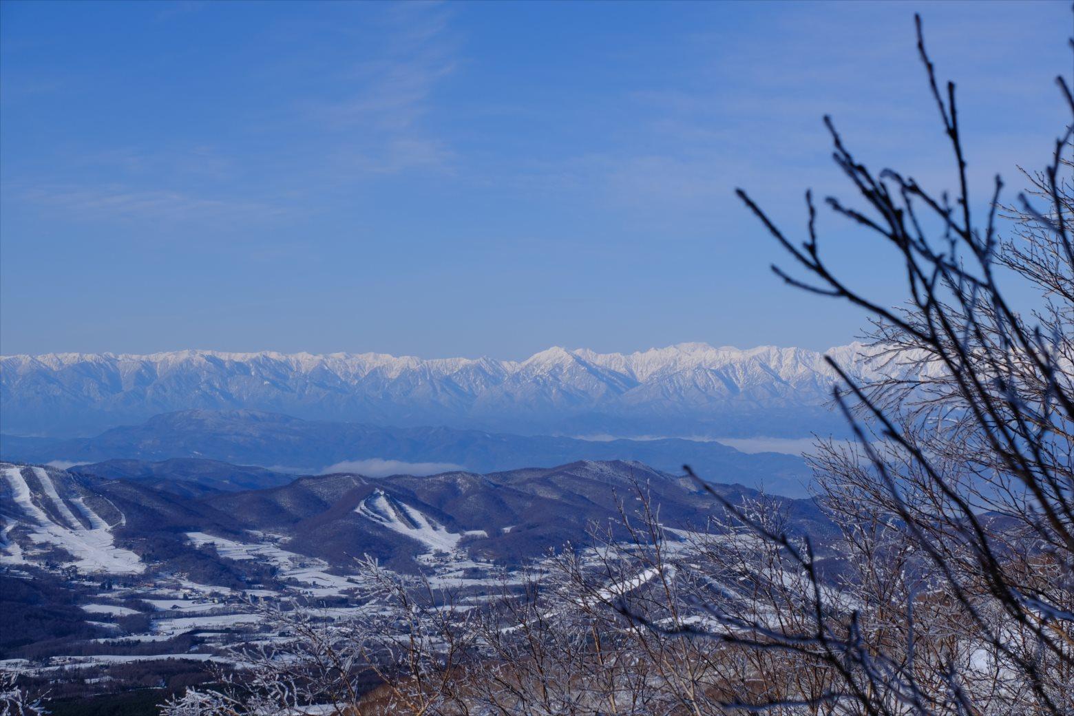 【厳冬期・雪山登山】四阿山 (25)