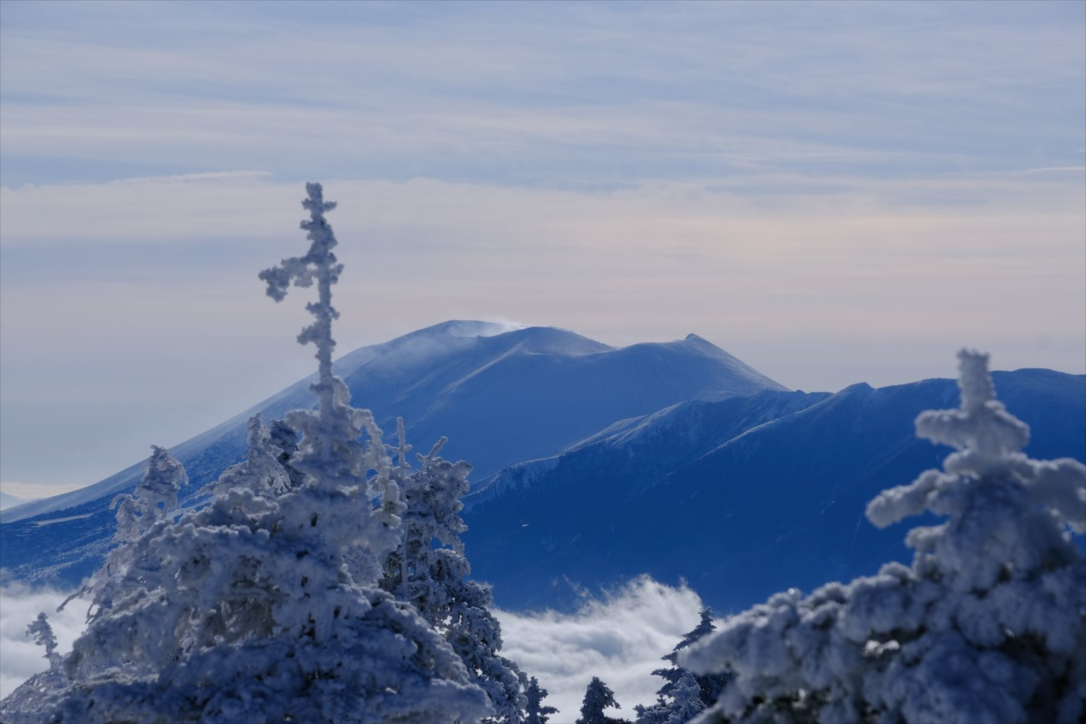 【厳冬期・雪山登山】四阿山 (31)