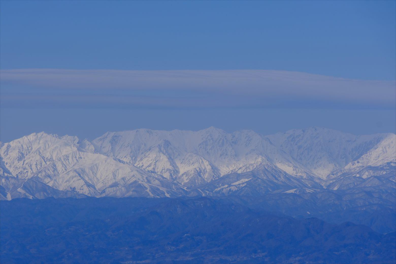 【厳冬期・雪山登山】四阿山 (49)