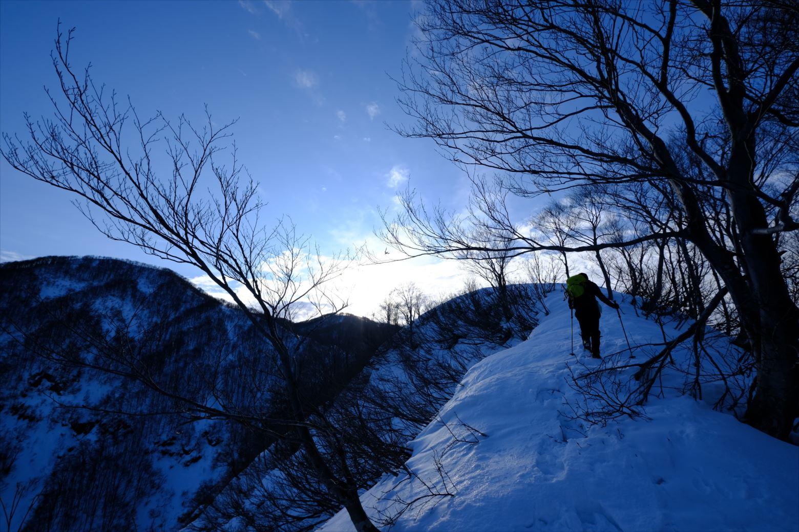 【厳冬期・雪山登山】守門岳 (13)