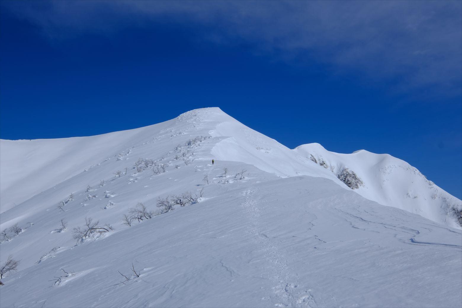 【厳冬期・雪山登山】守門岳 (37)