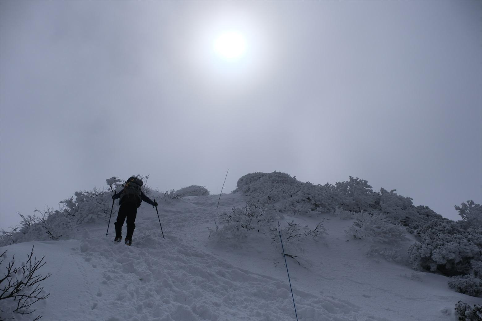 【残雪期・雪山登山】伯耆大山 (20)