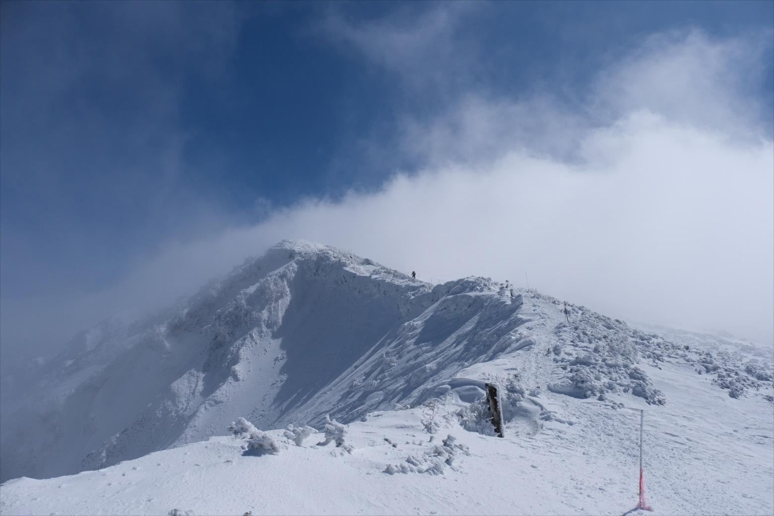 【残雪期・雪山登山】伯耆大山 (23)
